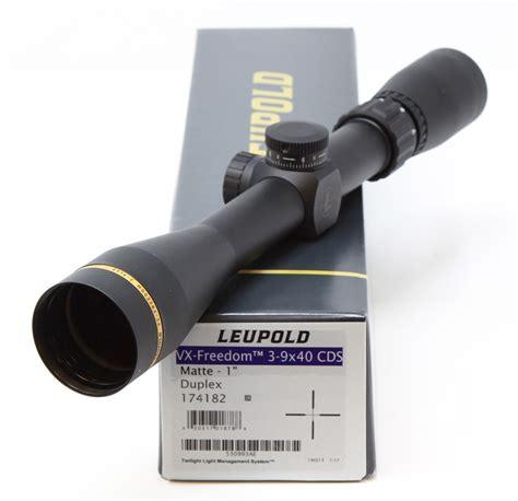Leupold Vxfreedom 39x40mm Cds Rifle Scope 39x40mm Cds Duplex Black