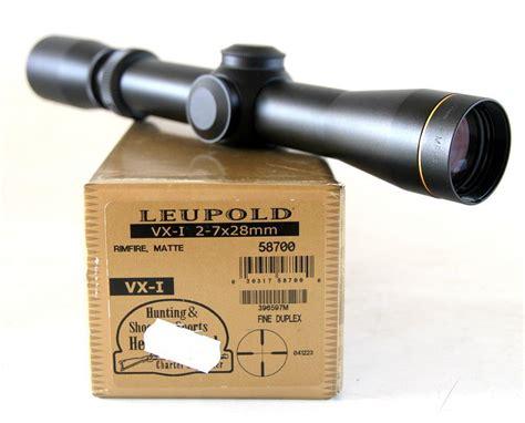 Leupold Vxi Rimfire 27x28