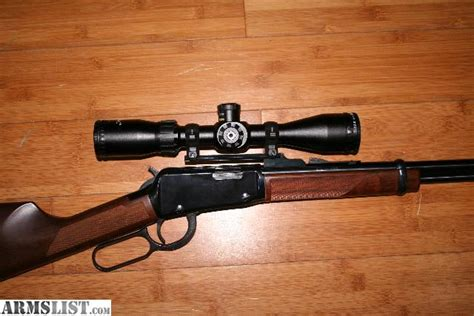 Lever Action 17 Caliber Rifle
