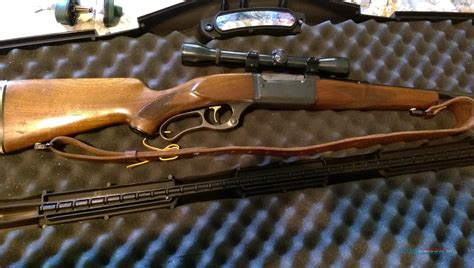 Lever Action 243 Savage Rifle