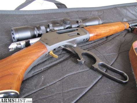 Lever Action Gold Trigger Rifle