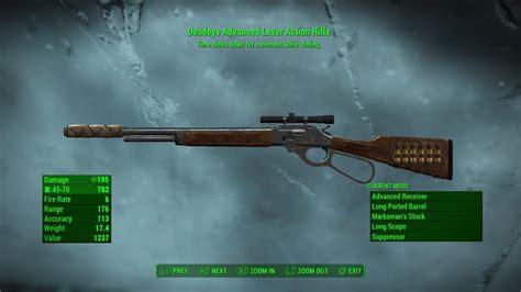 Lever Action Rifle Fallout 4 Best Gun