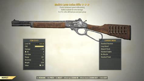Lever Action Rifle Farming Fallout 76