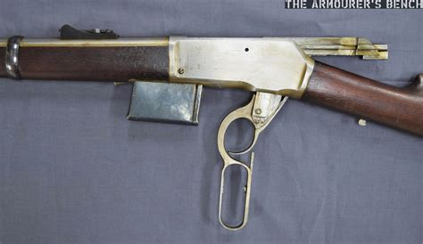 Lever Action Rifle With Box Magazine