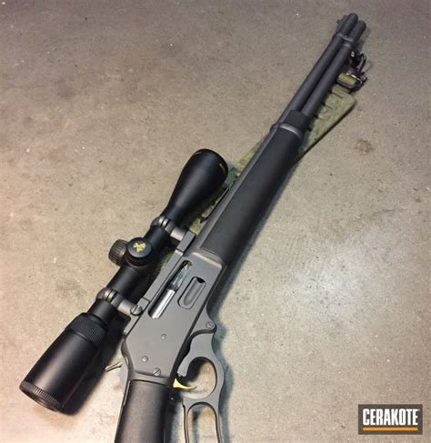 Lever Action Sniper Rifle