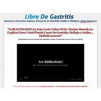 Libre de gastritis afiliados ganan 75% $31 85 x venta! methods