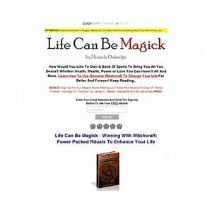 Life can be magick winning with witchcraft power packed rituals to enhance your life by miranda oakridge review