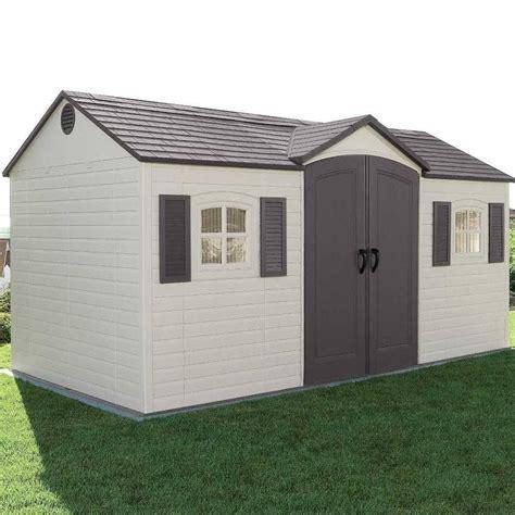 Lifetime 15x8 storage shed Image