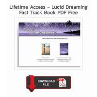 Lifetime access lucid dreaming fast track tutorials
