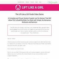 Lift like a girl guide: no nonsense strength training & nutrition free tutorials