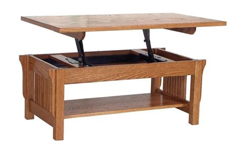 Lift Top Coffee Table Woodworking Plans
