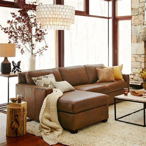 Light Brown Leather Sofa Decorating Ideas