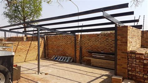 Lip channel carport design Image