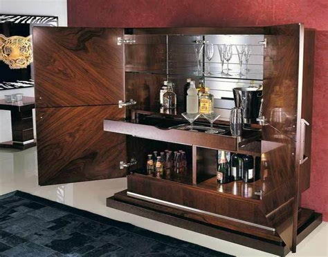 Liquor cabinet furniture modern Image