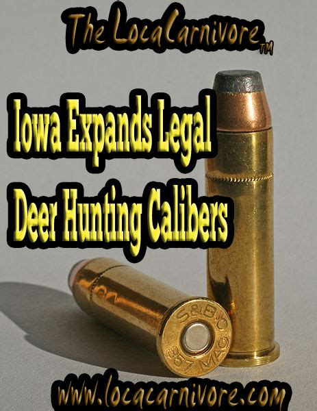 List Of Approved Rifles For Deer Hunting In Iowa