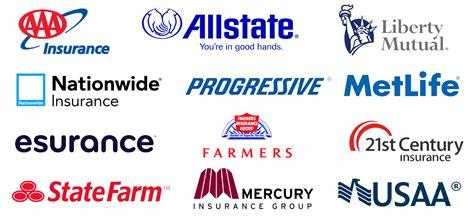 List Of Auto Insurances In