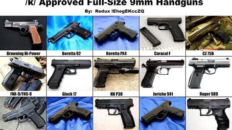 List Of Best Brands Handguns