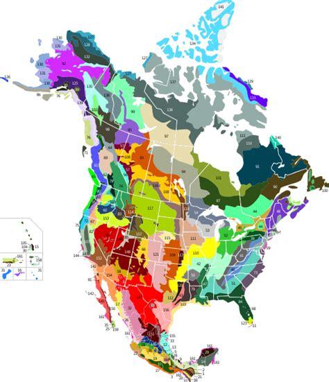List Of Ecoregions In North America Cec Wikipedia