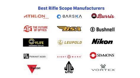 List Rifle Scope Manufacturers
