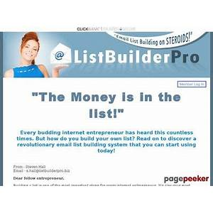 Listbuilderpro welcome guide