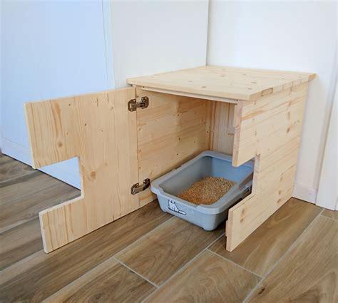Litter box furniture plans Image