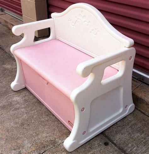 Little tikes victorian toy box dimensions Image