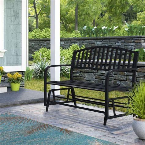Liv Outdoor Patio Glider Bench