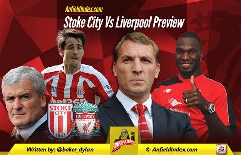 Liverpool Vs Stoke Predicted Lineups