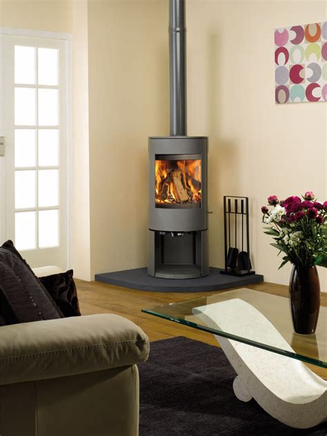 Living Rooms With Wood Burning Stoves