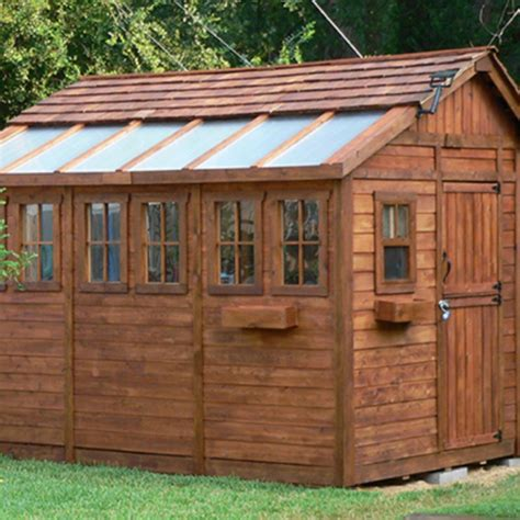 Living in storage shed Image