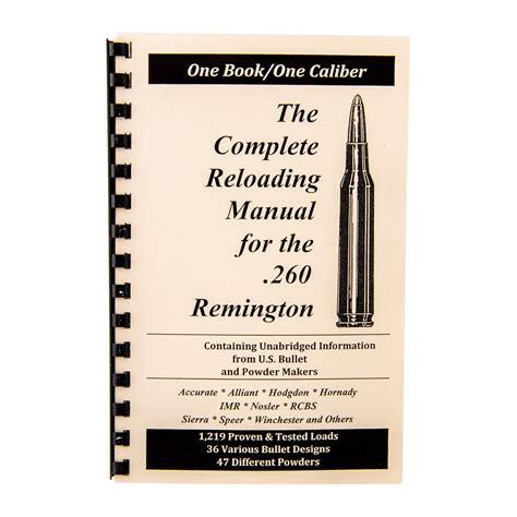 Loadbooks Usa Inc Loadbook260 Remington Brownells France