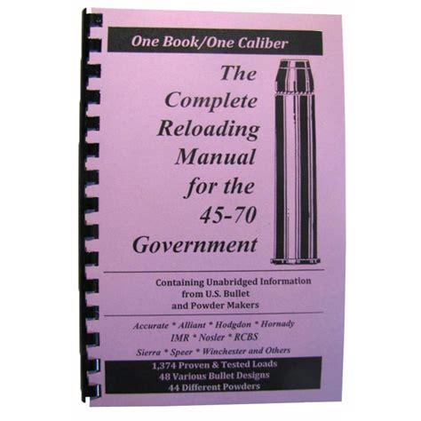 Loadbooks Usa Inc Loadbook4570 Government Brownells