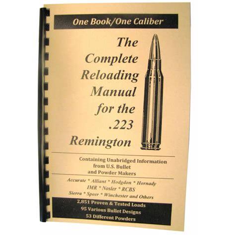 Loadbooks Usa Loadbook223 Remington