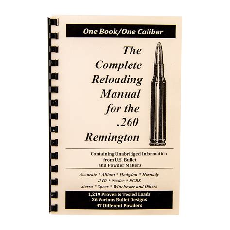 Loadbooks Usa Loadbook260 Remington