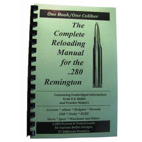 Loadbooks Usa Loadbook280 Remington