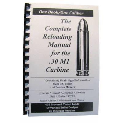 Loadbooks Usa Loadbook30 M1 Carbine