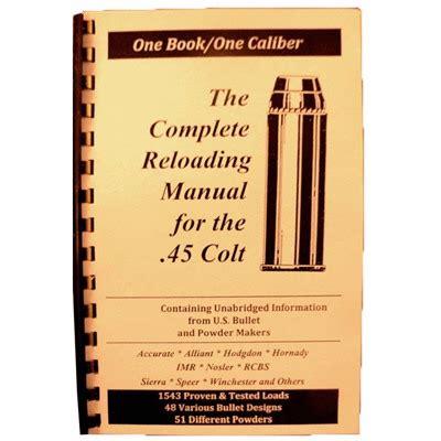 Loadbooks Usa Loadbook45 Colt