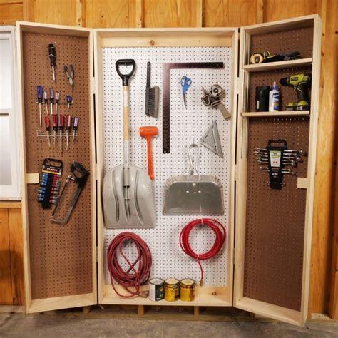 Lockable Tool Cabinet Plans