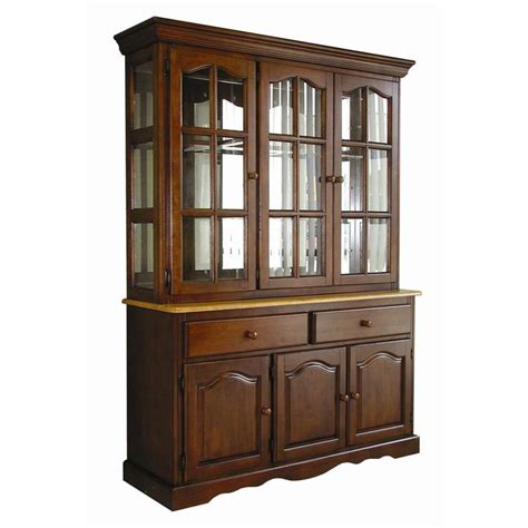 Lockwood Lighted China Cabinet