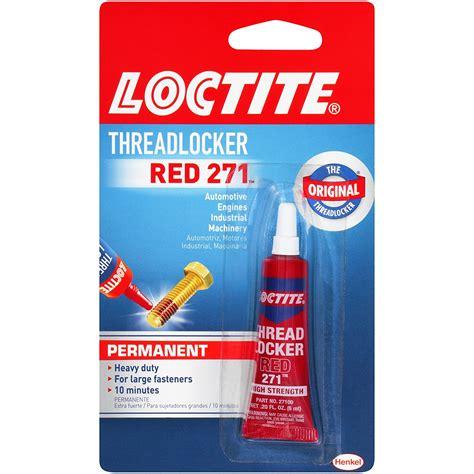 Loctite Threadlocker Red 271 0 20 Fl Oz Specialty Glue