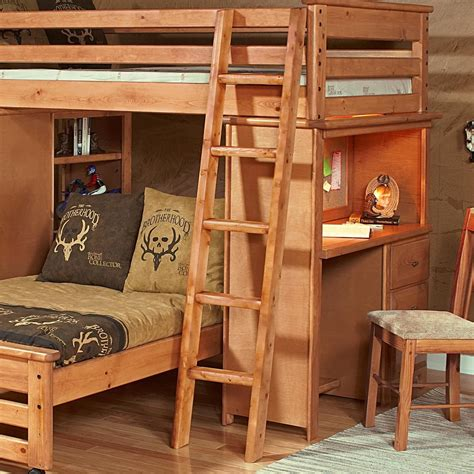 Loft bed with ladder Image