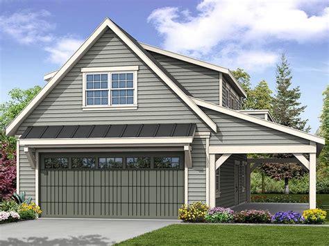 Loft garage plans Image