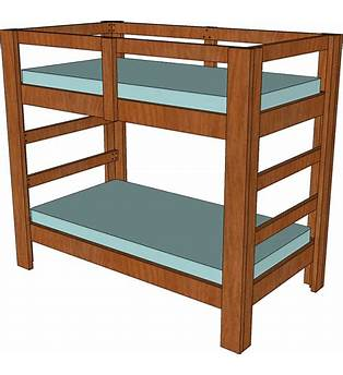 Loft Twin Bed Frame Plans