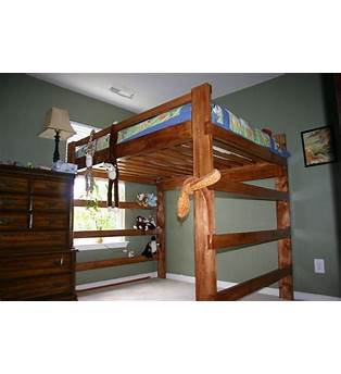 Lofted Queen Bed Plans