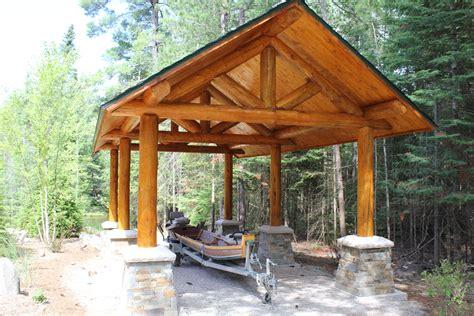 log carport design.aspx Image
