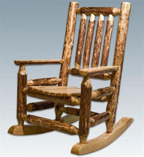 Log chair plans Image