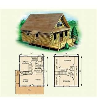 Log Guest Cabin Plans