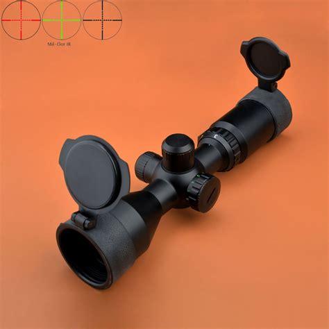 Long Eye Relief Rifle Scope Mil Dot