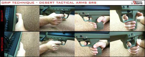Long Range Rifle Grips Technique