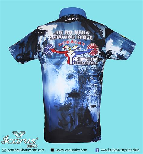 Long Range Rifle Shooting Team Shirts